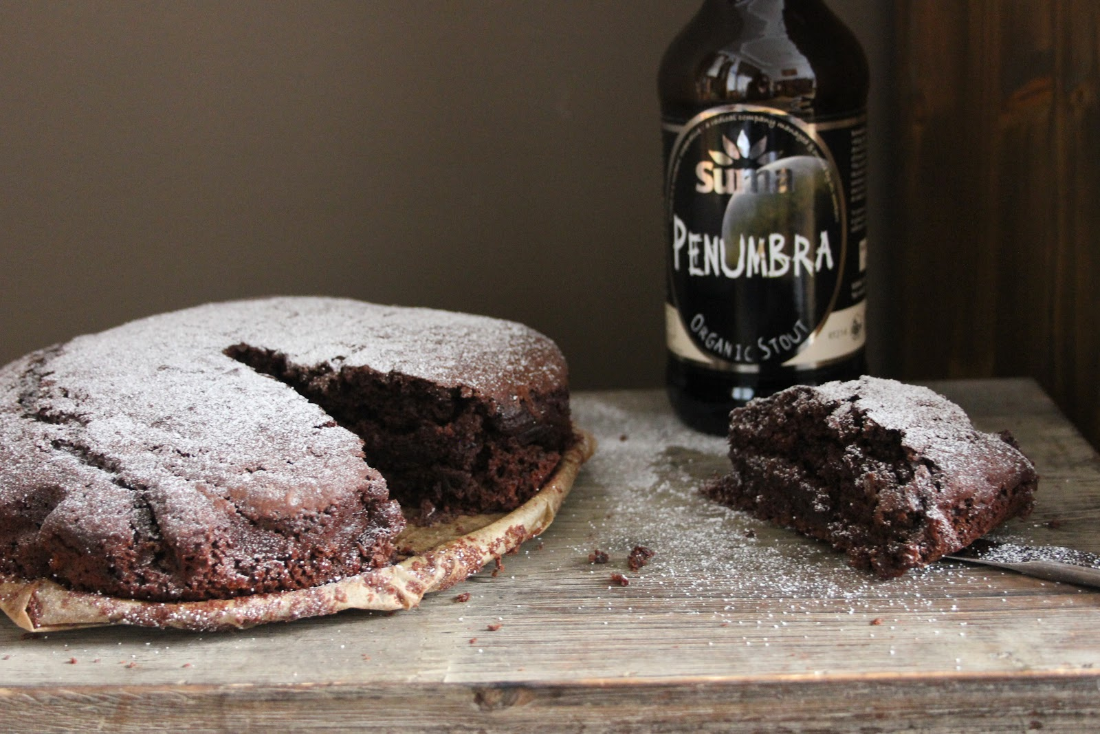 Chocolate Stout Cake (or Brownies) for St Patrick's Day |