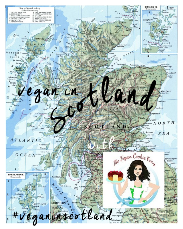 vegan in Scotland TVCF banner