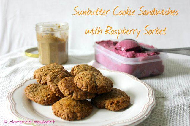 sunbutter cookie sandwiches title yellow