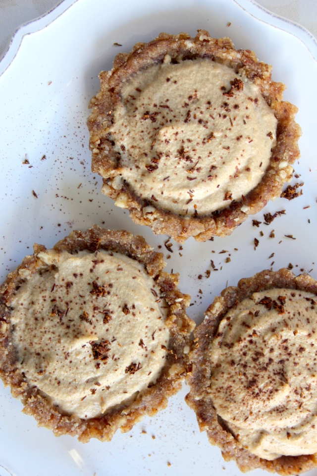 raw vanilla rooibos tartlets - best summer desserts