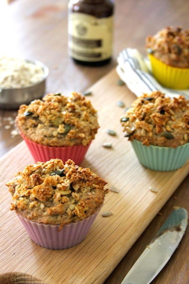 Roasted Rhubarb Muffins 3