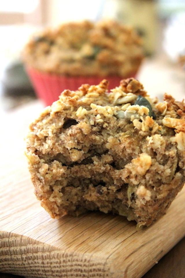 Roasted Rhubarb Muffins 7