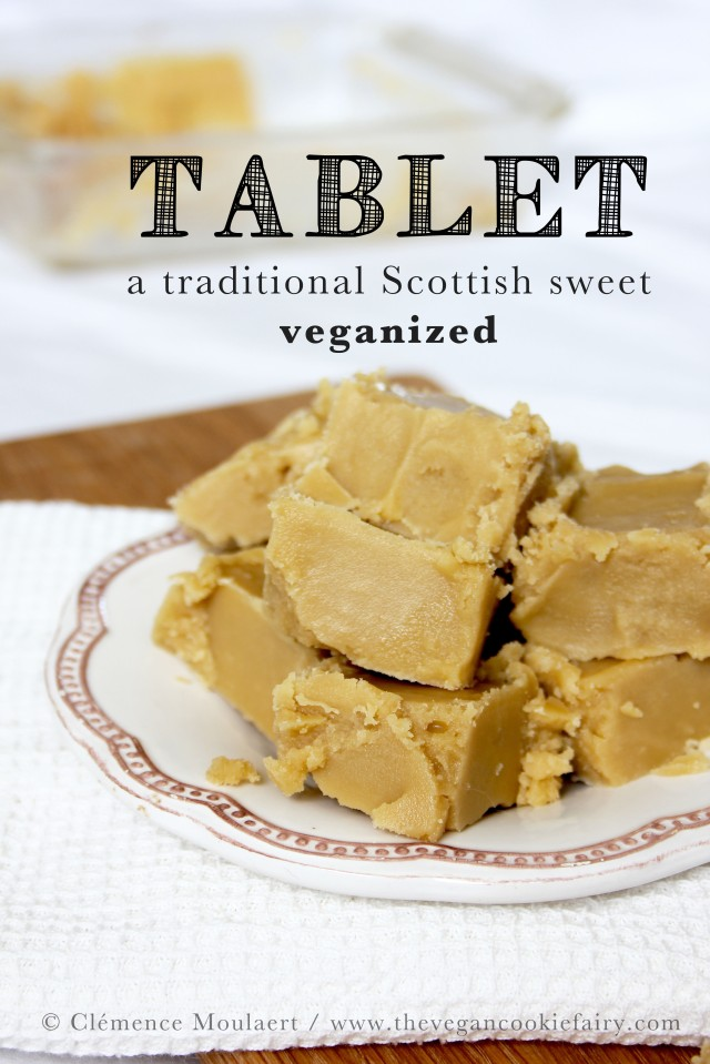 Vegan Scottish Tablet