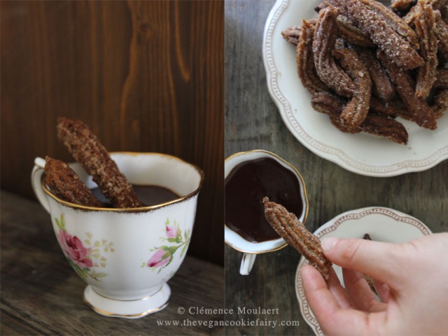 #vegan churros #chocolate 4