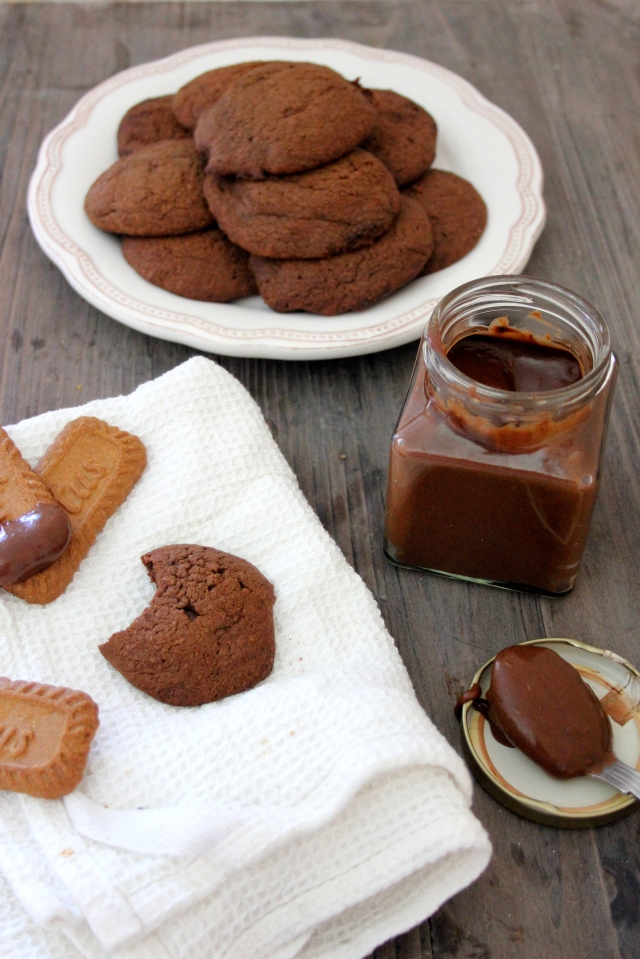 Chocolate cookie butter cookies 6