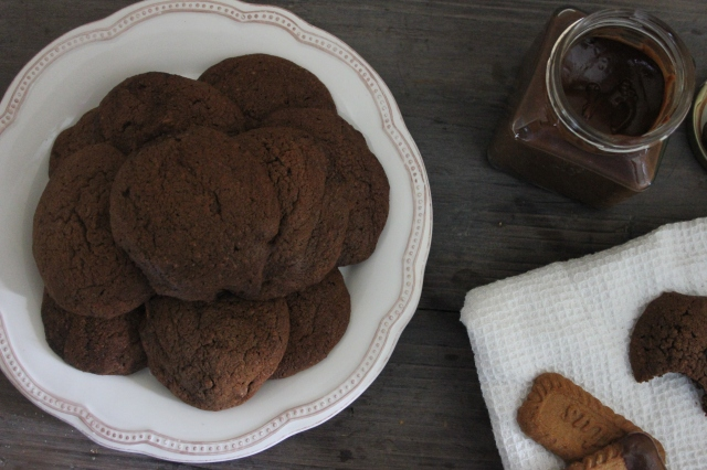 Chocolate cookie butter cookies 9