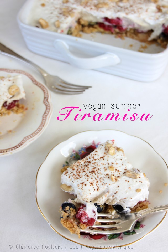 #vegan summer tiramisu title