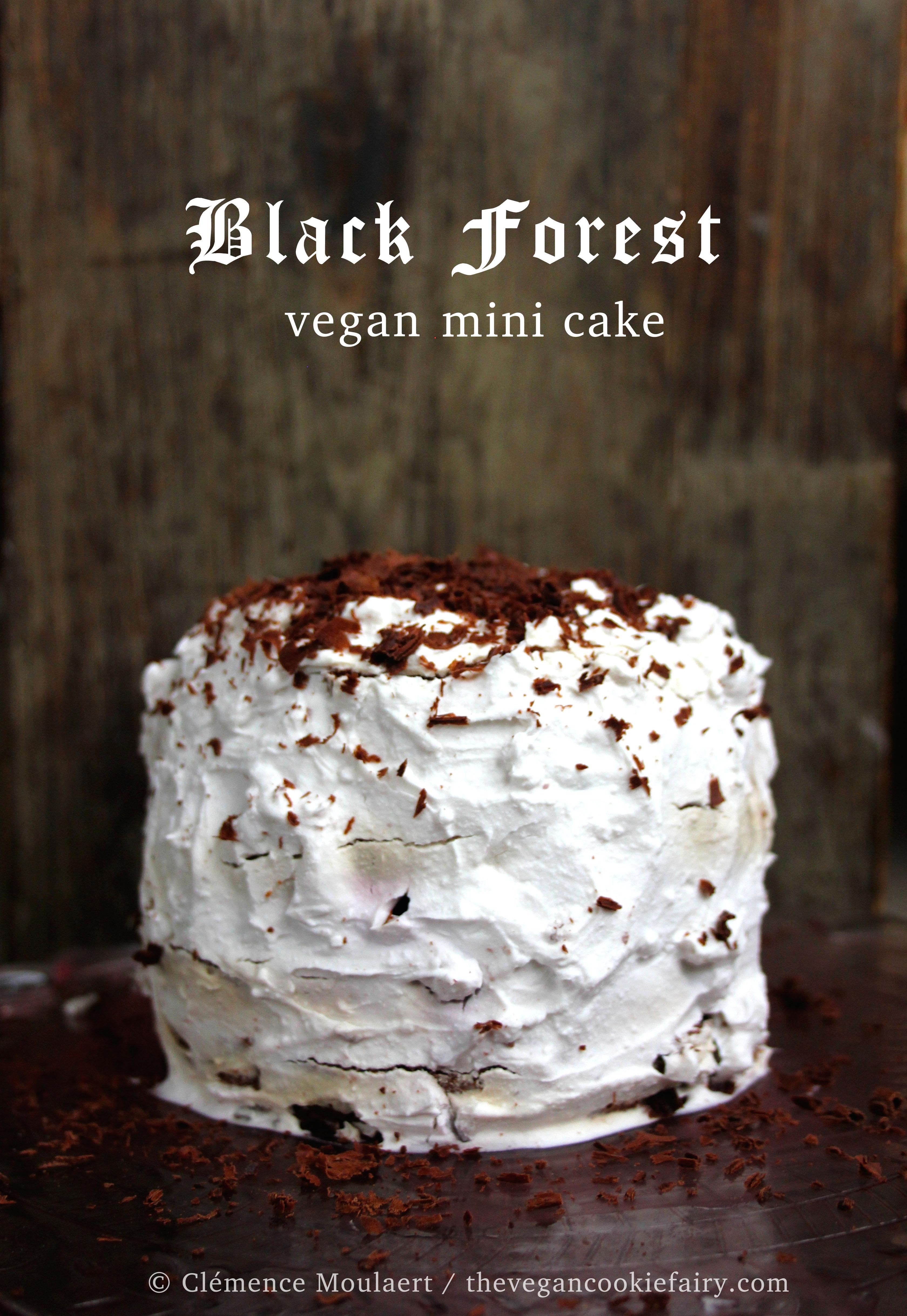 black forest mini cake g teau for t noire. Black Bedroom Furniture Sets. Home Design Ideas