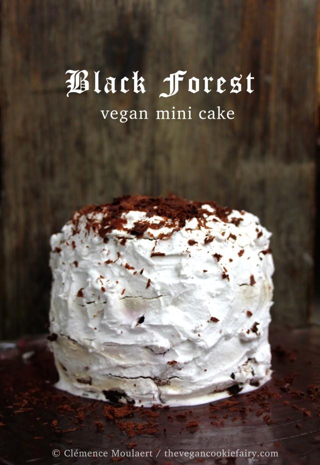 Black Forest Mini Cake 'Gâteau Forêt Noire'