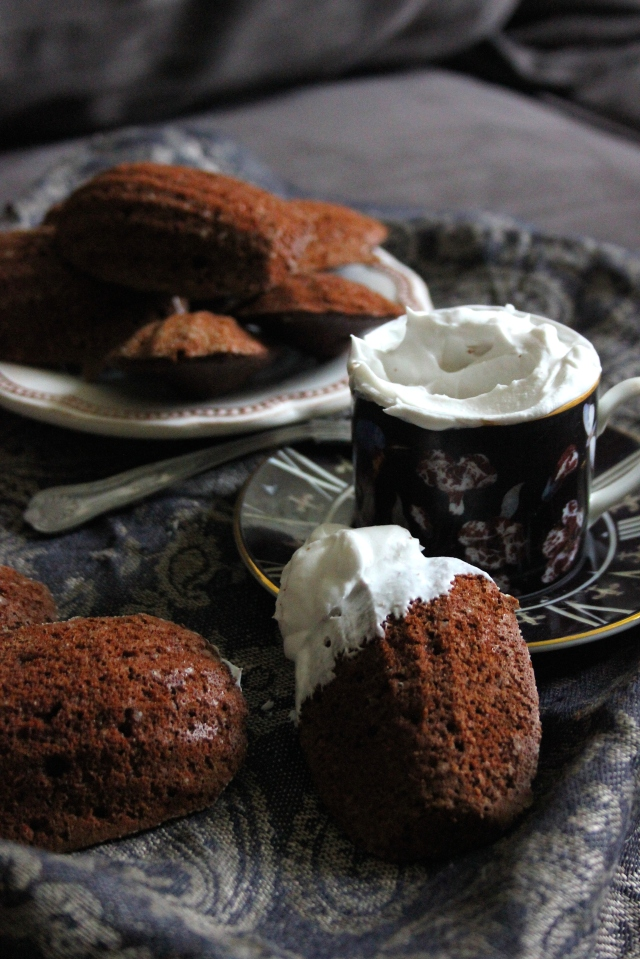 chocolate madeleines 14