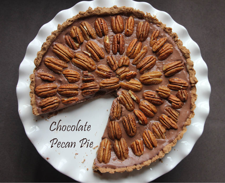 Chocolate Pecan Pie - My LITTLE BOOK OF CHOCOLATE - The Vegan Cookie ...