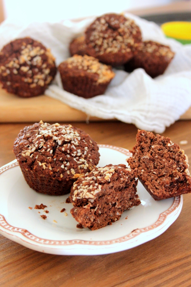 Coco choco muffins 1
