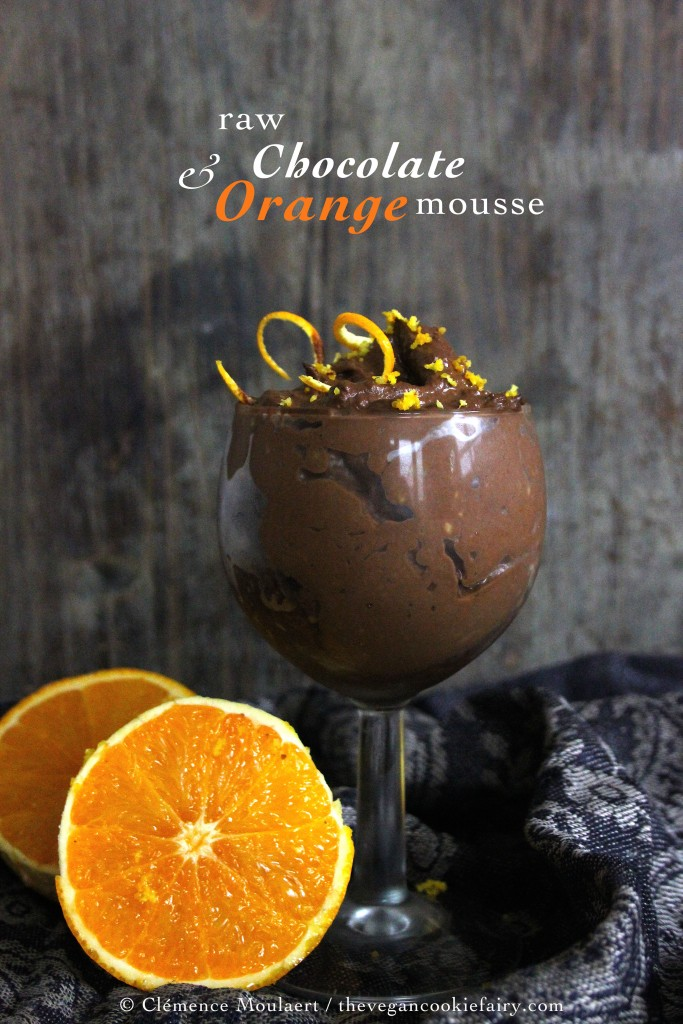 Raw chocorange mousse TITLE