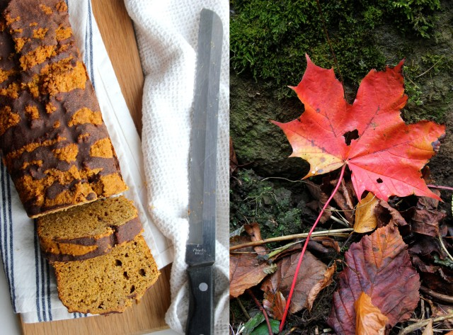 vegan pumpkin loaf autumn recipe