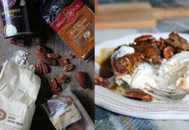one pot vegan sticky toffee pudding tvcf