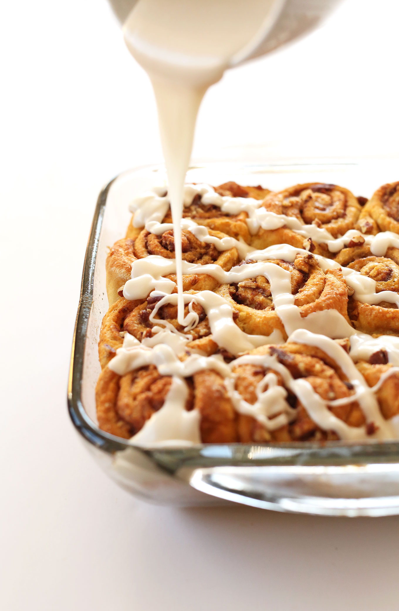 1 bowl vegan pumpkin cinnamon rolls simple perfectly