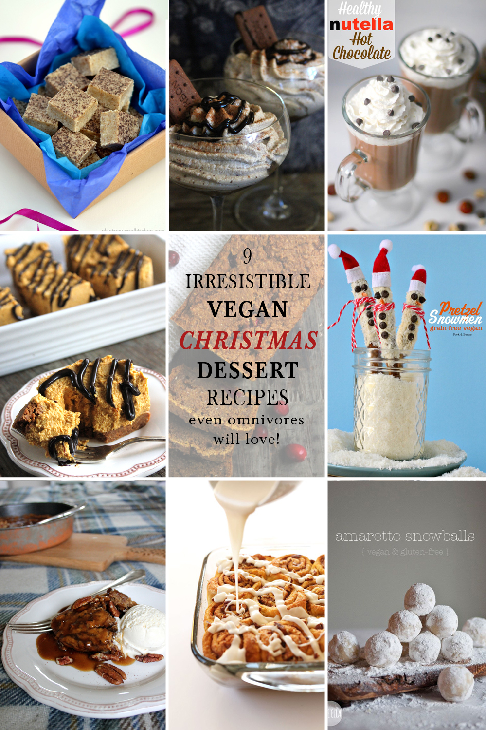 Christmas Desserts Recipes.9 Irresistible Vegan Christmas Desserts Even Omnivores Will