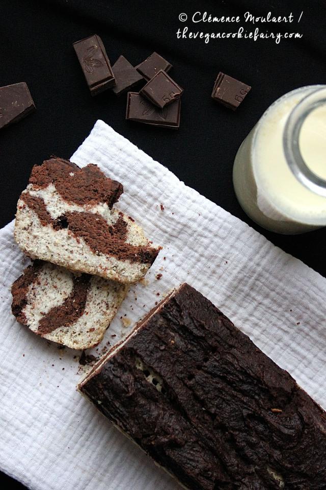 Chocolate Chai Marbled Cake GF 6
