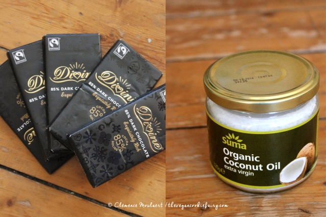 suma chocolate and coconut oil