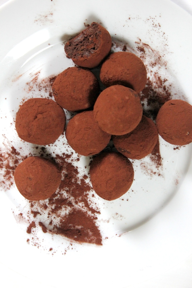#vegan #Nutella Chocolate Truffles 1