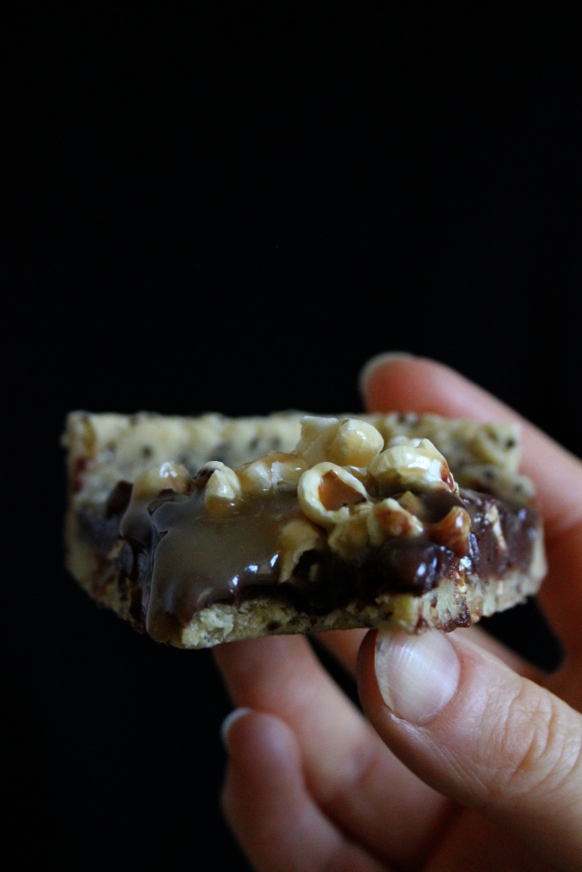 #Vegan Salted Caramel Popcorn Chocolate Tart 6