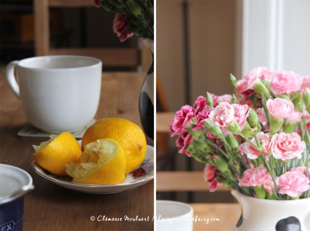 lemons + flowers
