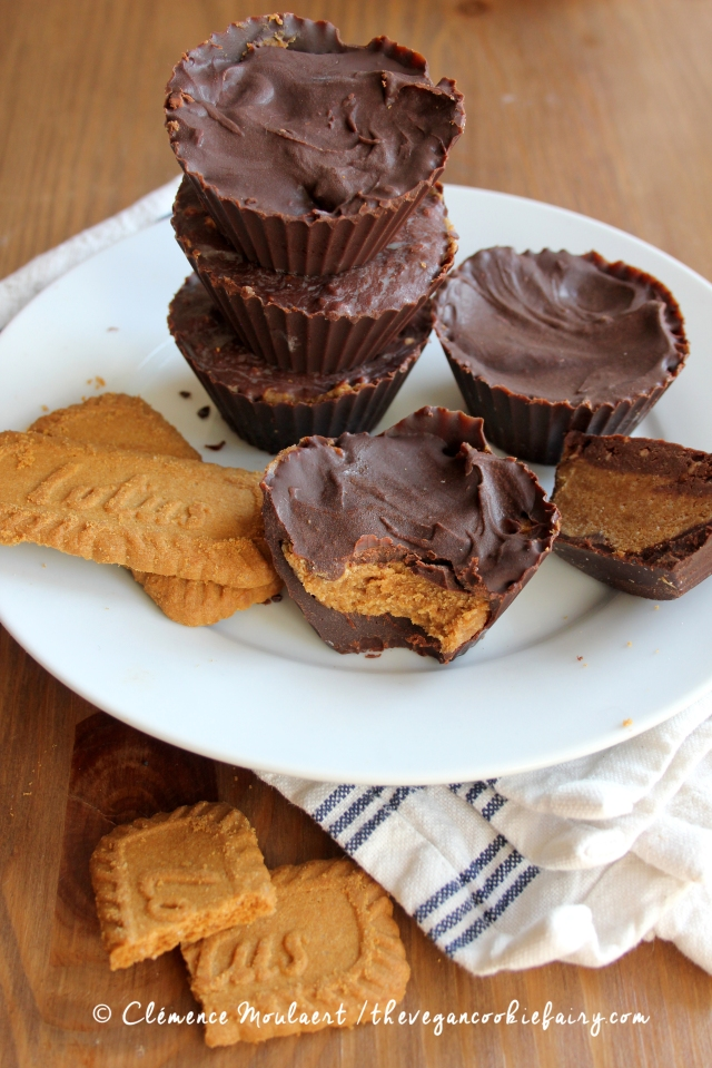 Chocolate Cookie Butter Cups