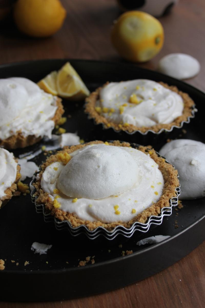 Coconut Lemon Meringue Pies