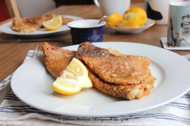 #Vegan #Glutenfree Lemon Sugar Pancakes