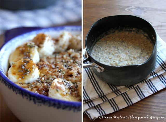 Vanilla Maca Oat Porridge Hormone Balancing #Vegan Breakfast
