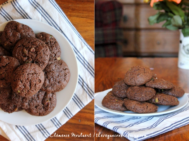 Fudgy Chocolate Sunbutter Cookies