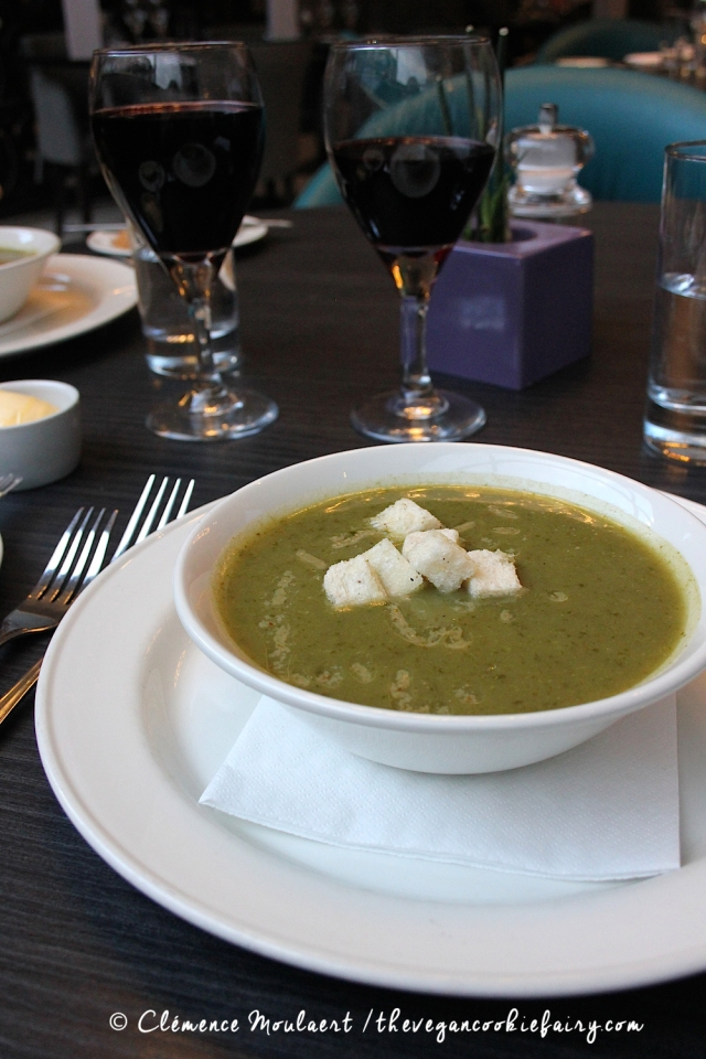 Nettle Soup @ BSB #veganinscotland
