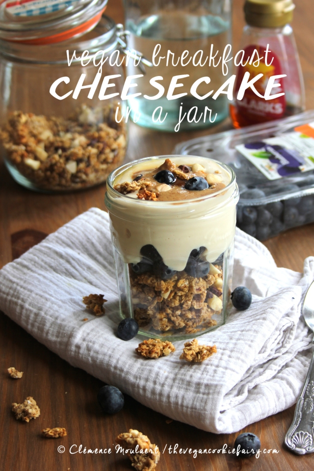 Vegan Breakfast Cheesecake In A Jar