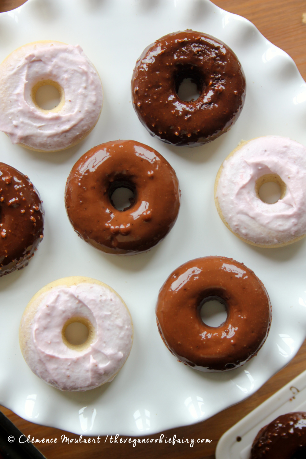 How to make soy flour donuts