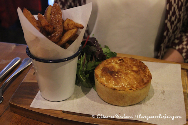 Sweet potato spinach goats cheese pie - Treacle Edinburgh