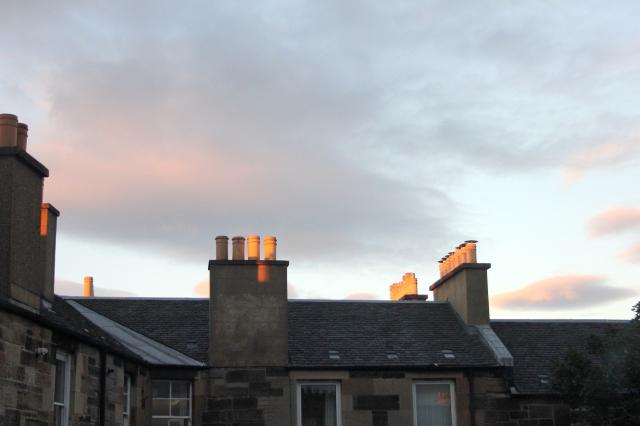 Edinburgh Skyline Sunrise