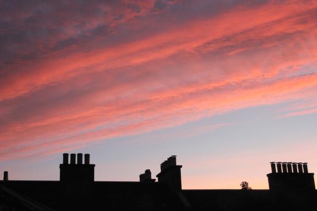 Edinburgh Sunset Skyline