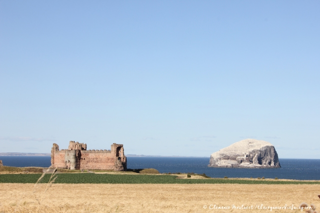 Tantallon and Bass Rock North Berwick