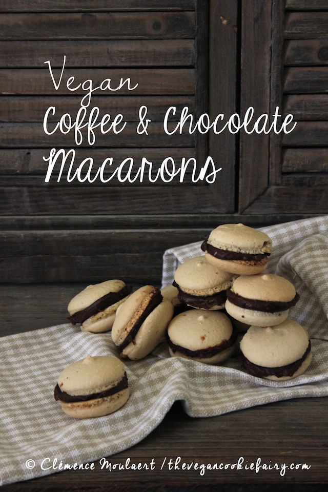 Vegan Coffee Macarons - The Vegan Cookie Fairy