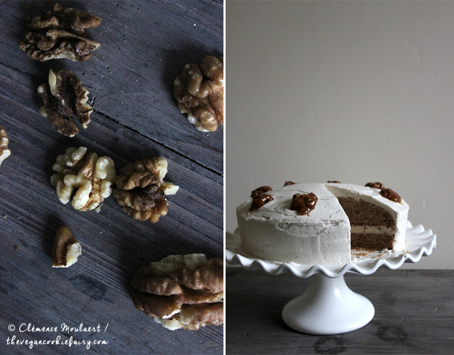 #Vegan #Glutenfree Walnut Coffee Cake | The Vegan Cookie Fairy